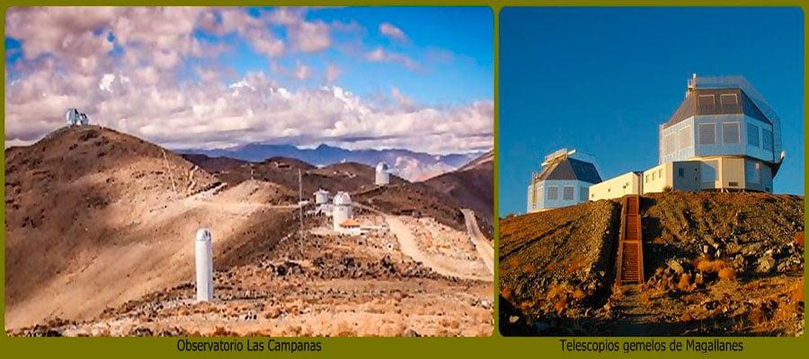 Observatorio las campanas - Vallenar